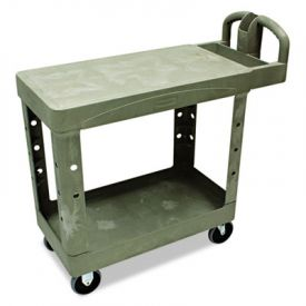 Rubbermaid® Commercial Flat Shelf Utility Cart; 19 1/2 x 37 7/8 x 33 1/3