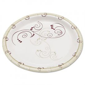Dart Symphony Paper Plates, Medium weight, 6