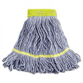 Boardwalk® Super Loop Wet Mop Heads, Cotton/Synthetic, SMALL