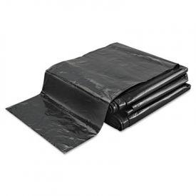 FlexSol Low Density Economy Ecosac, 43 x 48, 56-Gallon, 1.0 Mil, Black