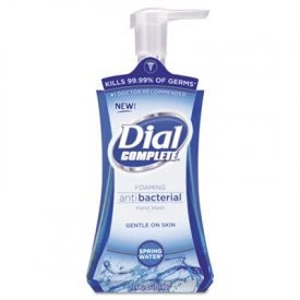 Dial® Antimicrobial Foaming Hand Soap, Spring Water, 7.5 oz