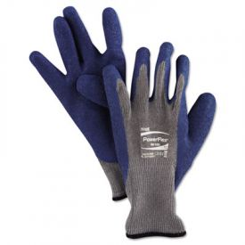 AnsellPro PowerFlex® Gloves, Blue/Gray, XL