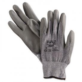 AnsellPro HyFlex Dyneema®/Lycra® Work Gloves, Gray, Size 9