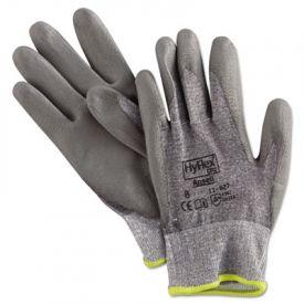 AnsellPro HyFlex Dyneema®/Lycra® Work Gloves, Gray, Size 8