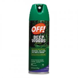OFF!® Deep Woods® Aerosol Insect Repellent, 6-oz. Aerosol Can