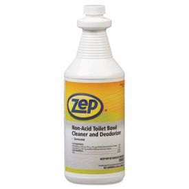 Zep® Professional Toilet Bowl Cleaner, Non-Acid, Quart, Bottle