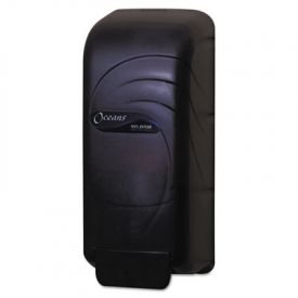 San Jamar® Oceans; Universal Liquid Soap Dispenser, 800 ML, Black