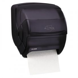 San Jamar® Lever Roll Towel Dispenser, 11 1/2 x 11 1/4 x 13 1/2