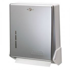 San Jamar® True Fold; C-Fold/Multifold Towel Dispenser, Chrome