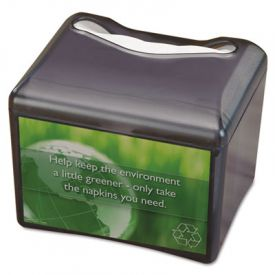 San Jamar® Venue; Napkin Dispenser with Advertising Inset