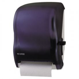 San Jamar® Lever Roll Towel Dispenser, Classic, Black Pearl