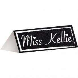 Chalkboard Place Cards