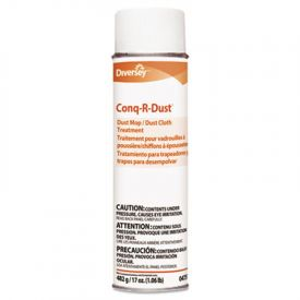 Diversey™ Conq-r-Dust Dust Mop/Dust Cloth Treatment,  17oz Aerosol