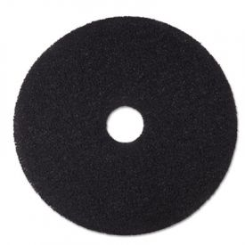 3M Black Stripper Floor Pads 7200, 18-Inch, Black