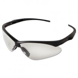 Jackson Safety* V30 NEMESIS Safety Eyewear 25676, Black Frame, Clear Lens