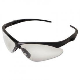Jackson Safety* V30 NEMESIS Safety Eyewear 25676, Black Frame, Clear Lens