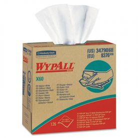 WypAll* X60 Wipers, Nylon, 9 1/8 x 16 7/8