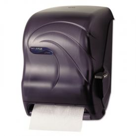 San Jamar® Lever Roll Towel Dispenser, Oceans, Black Pearl