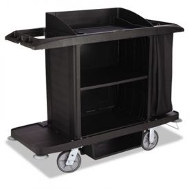 Rubbermaid® Commercial Housekeeping Cart, 3 Shelf