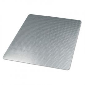 Universal® Studded Chair Mat for Low Pile Carpet, 46w x 60l, Clear