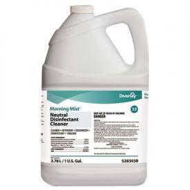 Diversey; Morning Mist; Neutral Disinfectant Cleaner, Fresh, 1 Gal Bottle