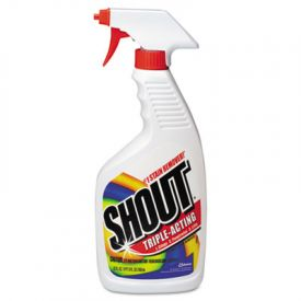Shout® Laundry Stain Treatment, Unscented, Trigger Spray Bottle, 22oz
