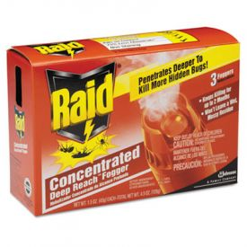 Raid® Concentrated Deep Reach™ Fogger, 1.5 oz Aerosol Can, 3/Pack