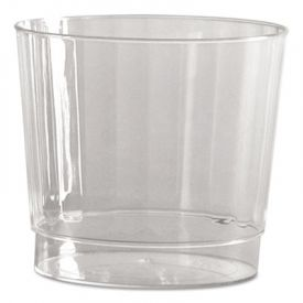 WNA Classic Crystal; Fluted Tumblers, 9 oz., Clear