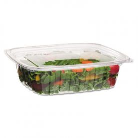 Eco-Products® Rectangular Deli Containers, 48oz, 8w x 6d x 2h