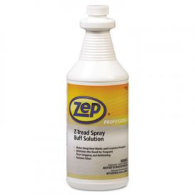 Zep® Professional Z-Tread Buff-Solution Spray, Neutral, 1qt Bottle