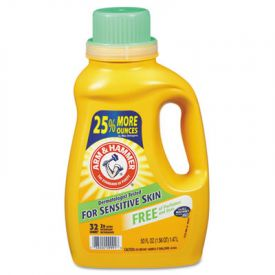 Arm & Hammer™ HE Compatible Liquid Detergent, Unscented, 50oz