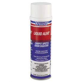 Dymon® LIQUID ALIVE; Carpet and Textile Cleaner/Deodorizer, 20oz, Aerosol