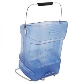 Rubbermaid® Commercial Ice Tote, 5.5gal, Blue, With Hook Assembly