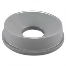 Rubbermaid Commercial Untouchable Funnel Top, Round, 16 1/4 dia., Gray