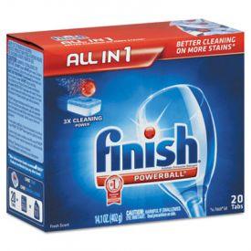 FINISH® Powerball® Dishwasher Tabs, Fresh Scent