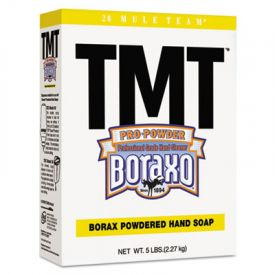 Boraxo® TMT® Powdered Hand Soap, Unscented Powder, 5lb Box