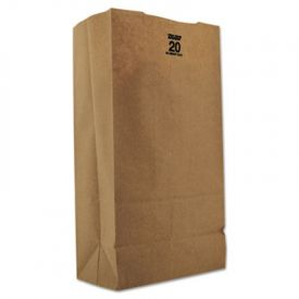 Duro Bag Kraft Paper Bags, Extra Heavy-Duty, 20 lb., Natural