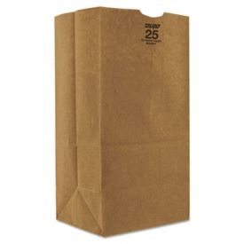 Duro Bag Kraft Paper Bags, Extra Heavy-Duty, 25 lb., Natural