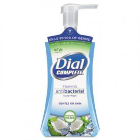 Dial® Antimicrobial Foaming Hand Soap, Coconut Waters, 7.5 oz Pump