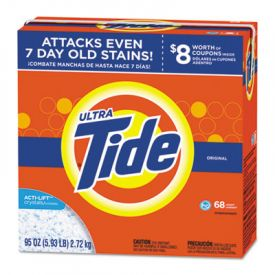 Tide® HE Laundry Detergent, Original Scent, 95oz Box