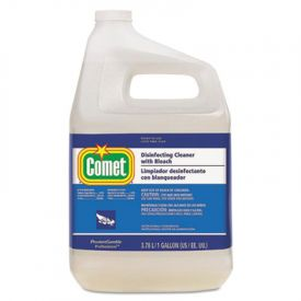 Comet® Disinfecting Cleaner w/Bleach, 128 oz Bottle
