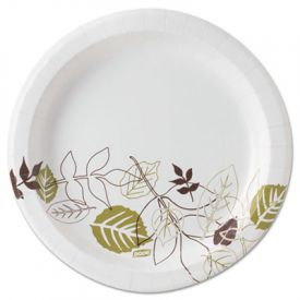 Dixie® Pathways; Mediumweight Paper Plates, 8.5