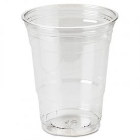 Dixie® Clear Plastic PETE Cups, 16 oz, WiseSize Packs