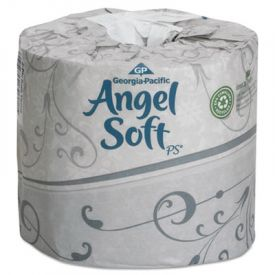 Georgia Pacific® Angel Soft; Premium Bathroom Tissue, 80 Rolls