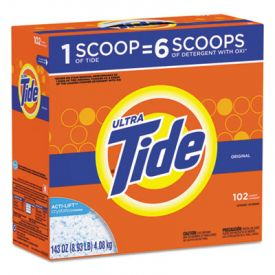 Tide® Ultra Laundry Detergent, Original, 143 oz, Box
