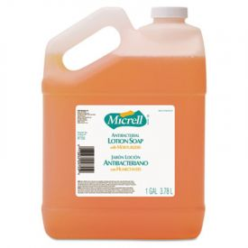 GOJO® MICRELL; Antibacterial Lotion Soap, Light Scent, 1 gal.