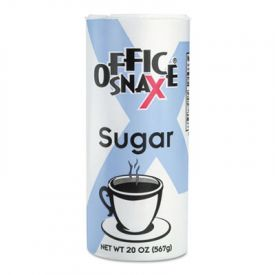 Office Snax® Sugar Canister, 20oz