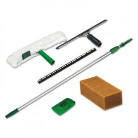 Unger® Pro Window Cleaning Kit, Scrubber, Squeegee, Scraper, Sponge
