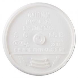 Dart® Sip Thru Lids,12, 14 oz Foam Cups, Plastic