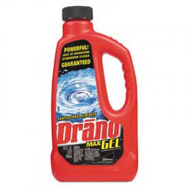 Drano® Max Gel Clog Remover, Unscented, 1 qt. Bottle